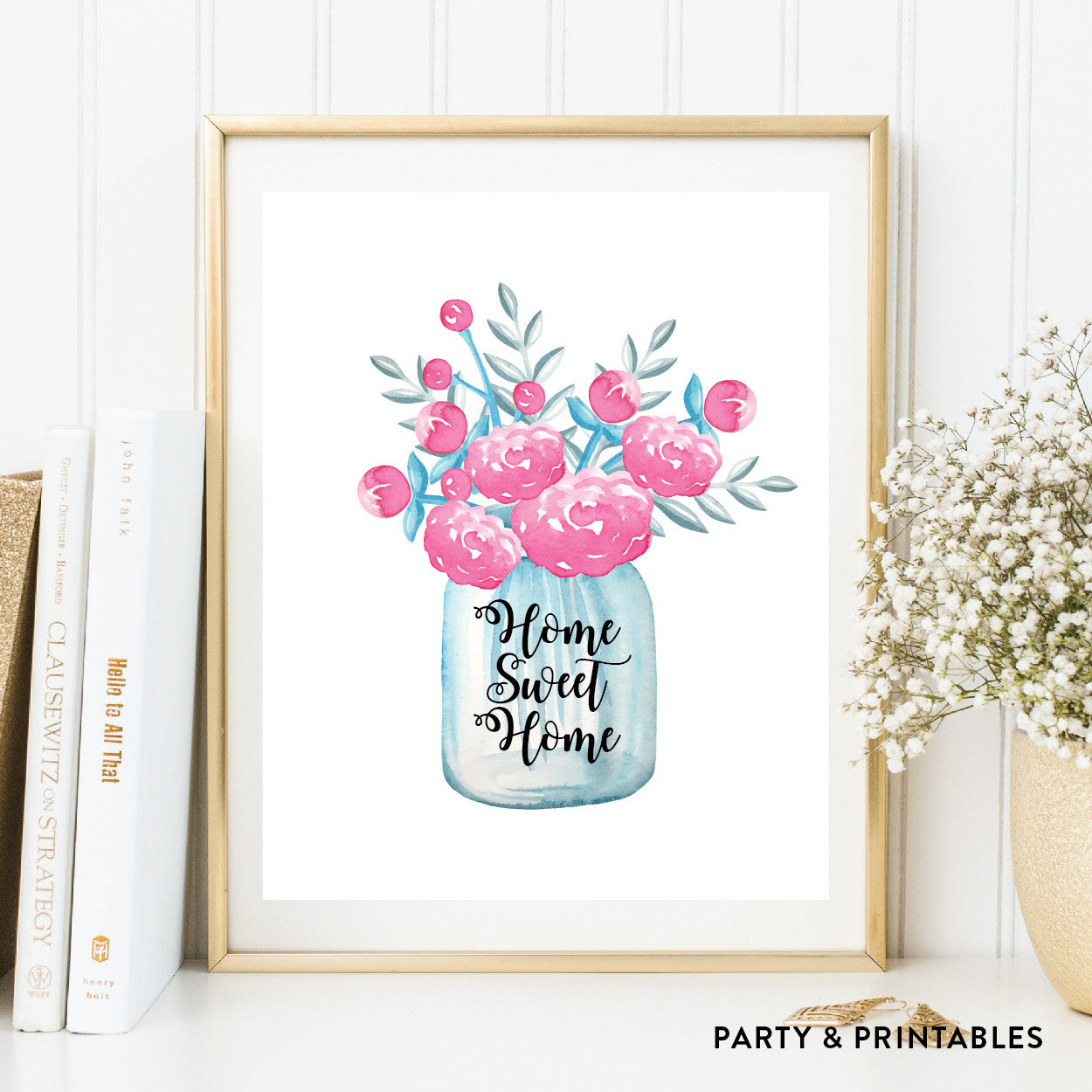 Home Sweet Home Wall Art / Instant Download (WA.47), wall art - Party and Printables