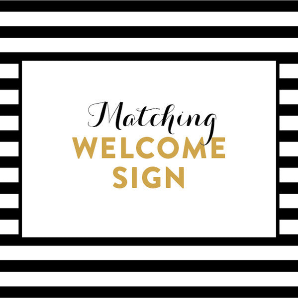 Matching Welcome Sign / Made to Order