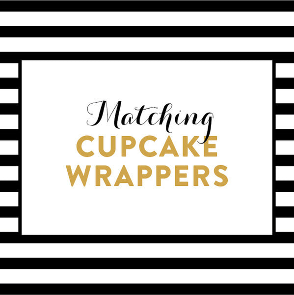 Matching Cupcake Wrappers / Made to Order