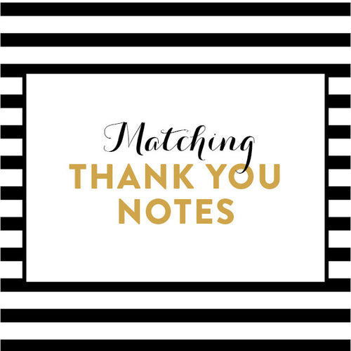 Matching Thank You Notes / Made to Order