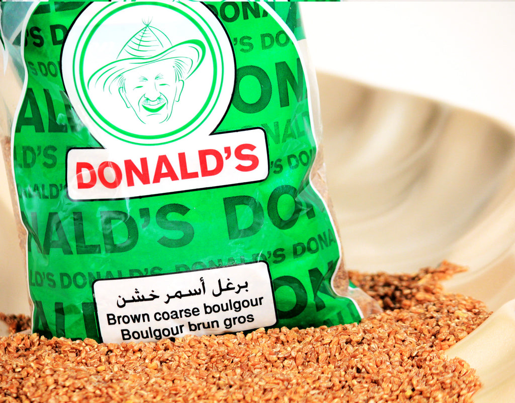 Bulgur Brown Coarse -</p>برغل أسمر خشن - almounat.com