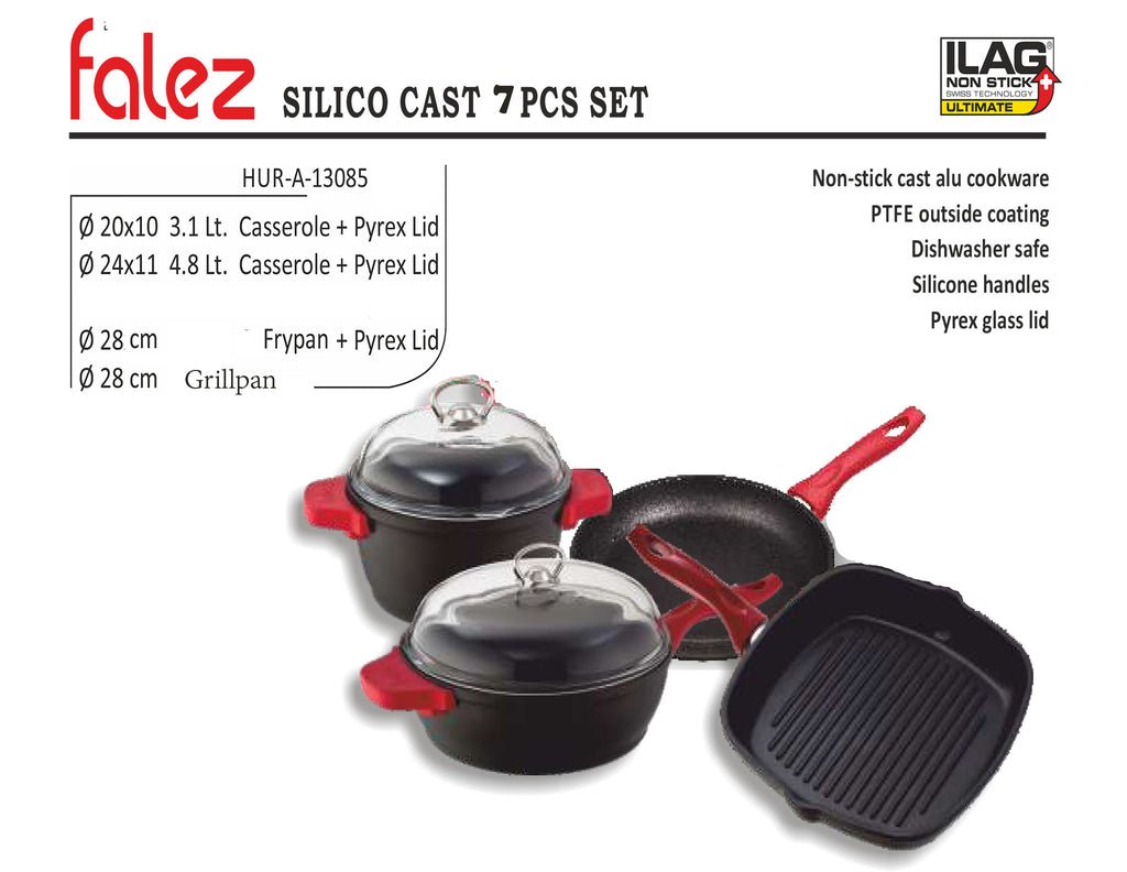 Falez Silico (7 Pieces set) - almounat.com