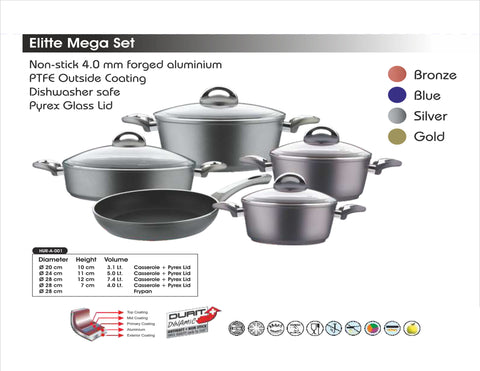 Elitte Mega Set (9 pieces) - almounat.com
