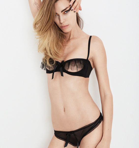 Kitty Bra Black