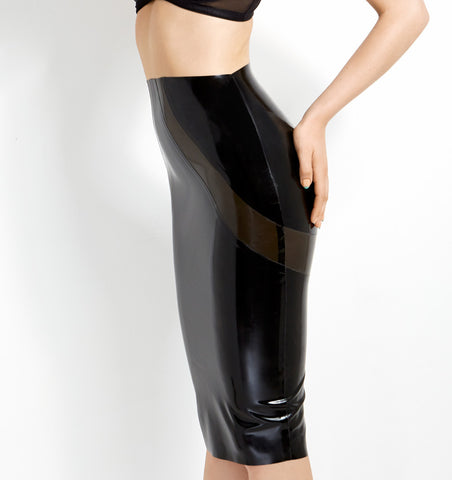 William Wilde Latex Skirt