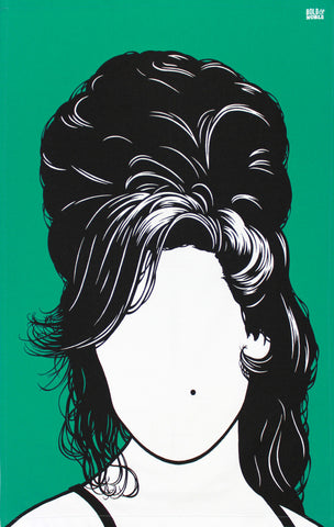 Amy Winehouse tea towel