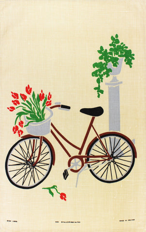 Bike tea towel