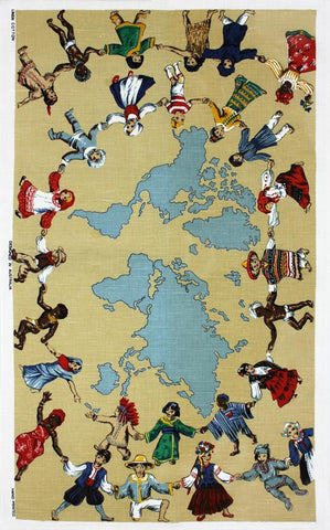 Children of the World tea towel