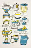 Cup of Sea tea towel