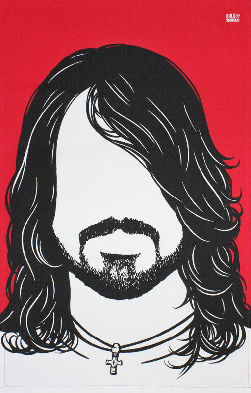 Dave Grohl tea towel