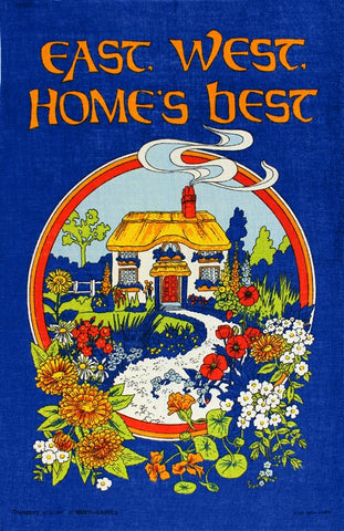 East West Home's Best tea towel
