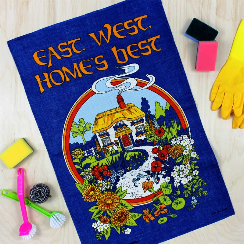 East West Home's Best vintage tea towel