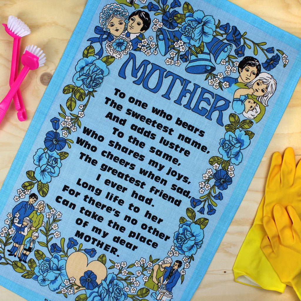 Mother tea towel