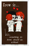 Love is... Home tea towel