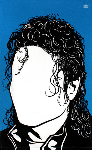 Michael Jackson tea towel