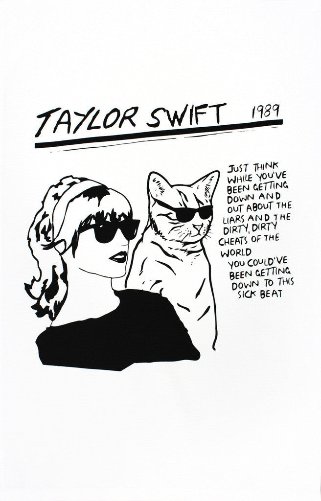 Tay Tay tea towel