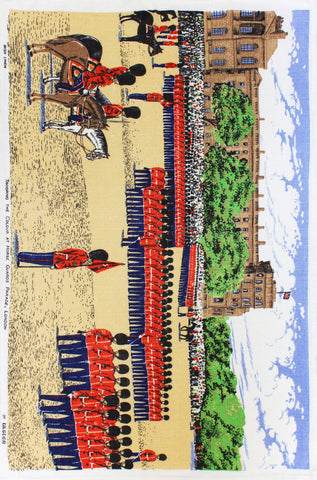 Trooping the Colour tea towel