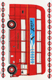Visit London tea towel