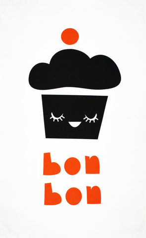 Bon Bon tea towel (second)