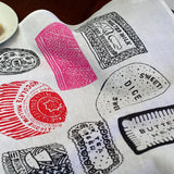 Family Favourites tea towel