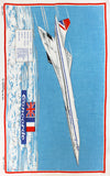 Concorde tea towel