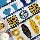 Coffee and Cake tea towel