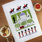 Scenic London tea towel by Daphne Padden