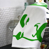 Mr Tea Towel (green)