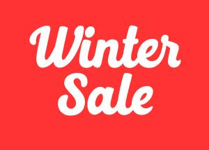 Winter tea towel sale!