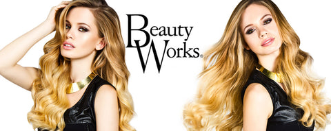 beauty works human clip in hair extensions, princess hair