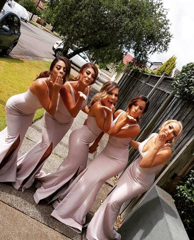 portia and scarlett bridesmaids dresses at shaide boutique bridal party
