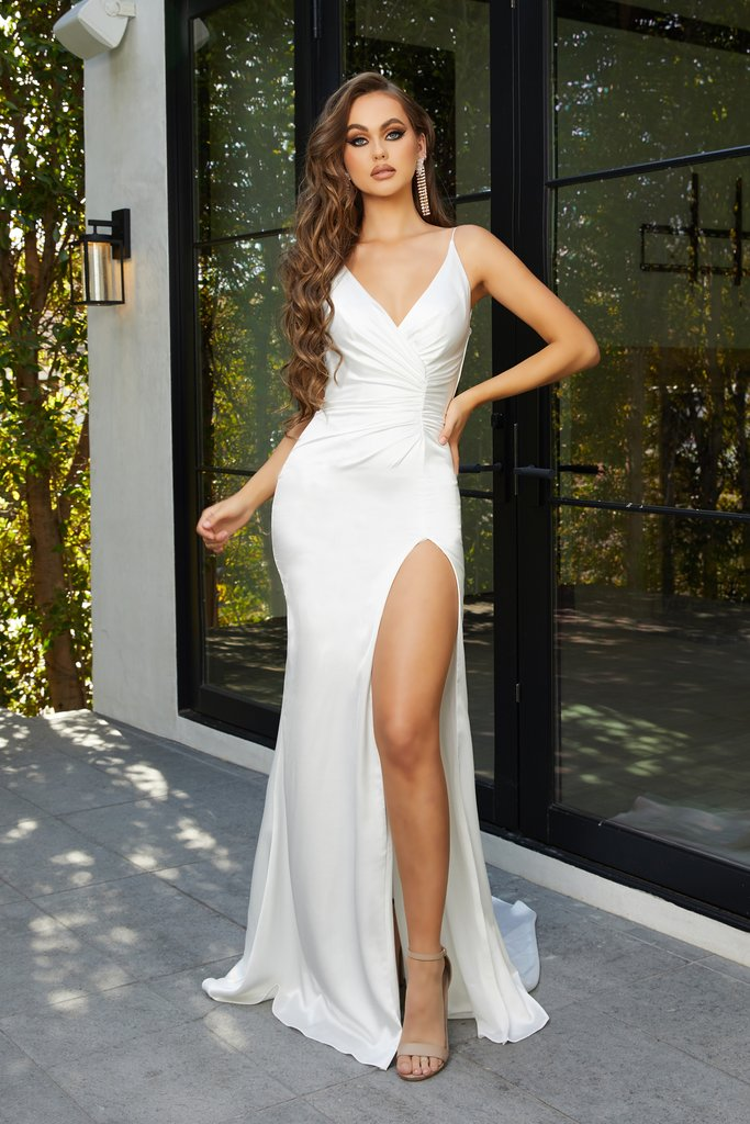 Portia & Scarlett Hugo grecian inspired sexy bodycon formal evening dreses at shaide boutique uk side