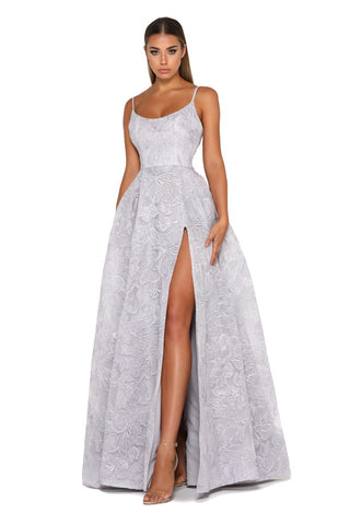 portia and bridesmaids sparkly bridesmaids dress Missandei