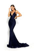 Portia & Scarlett Cheryl - Navy Blue evening gown bodycon prom dress