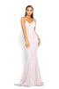 portia and scarlett dana diamond pink ps1936 long backless evening gown from shaide boutique uk front