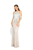 Portia & Scarlett PS1961 - PROVENCE silver beaded evening dress at SHAIDE Boutique UK