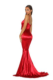 portia and scarlett ps2003 silky prom dress shiran at shaide boutique uk london back