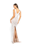 Portia & Scarlett PS2004 - NEUILLY white wedding dresss at shadie boutique uk back
