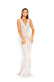 Portia & Scarlett PS2004 - NEUILLY white wedding dresss at shadie boutique uk front
