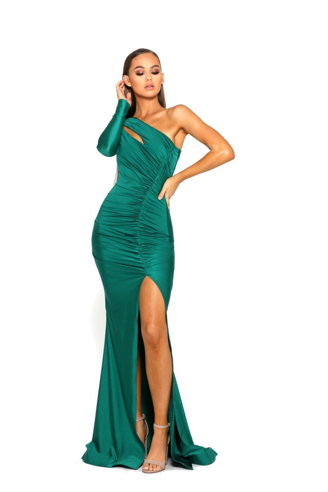 portia and scarlett ps2068 emerald green dress next day delivery at shaide boutique uk