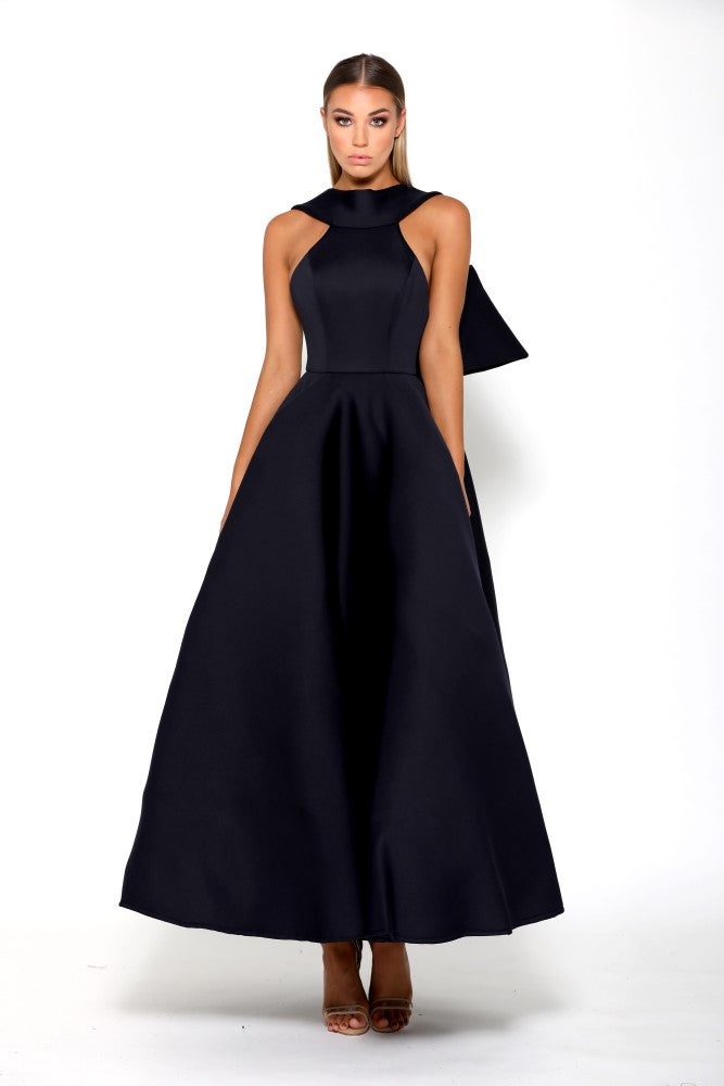 Portia and Scarlett Attina - Navy bridesmaids dress