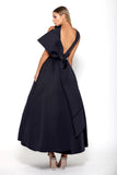 Portia and Scarlett Attina - Navy prom dress