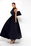 Portia and Scarlett Attina - Navy formal gown