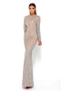 Portia & Scarlett Modest Lascelle Long Sleeve bridesmaids dress