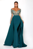 Portia & Scarlett Princess Emerald Evening Gown
