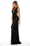 portia and scarlett liliana sexy fit bodycon black prom dress evening gown