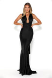 portia and scarlett liliana sexy fit bodycon black prom dress sexy