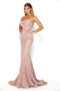 portia and scarlett athena rose gold sweetheart bodycon sexy prom dress shaide boutique uk