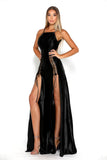 Portia & Scarlett Chantel Black super sexy prom dress evening dress