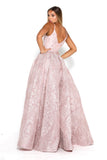 Portia & Scarlett Molinaro Mauve Bridesmaids prom dress